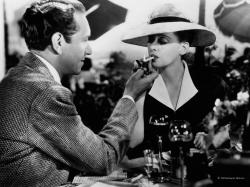 Paul Henreid and Bette Davis in Now Voyager.