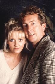 Camille Coduri and her father.