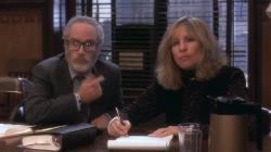 Richard Dreyfuss and Barbra Streisand in Nuts.