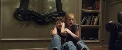 Garrett Ryan and Annalise Basso in Oculus.