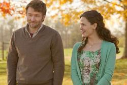 Joel Edgerton and Jennifer Garner in The Odd Life of Timothy Green