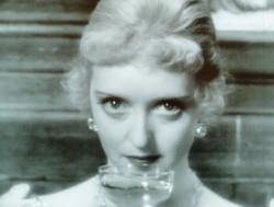 Bette Davis shows off her Bette Davis eyes in Of Human Bondage.