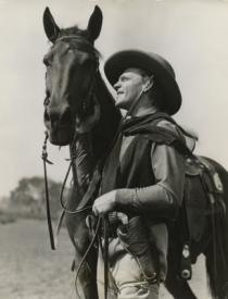 James Cagney in The Oklahoma Kid.