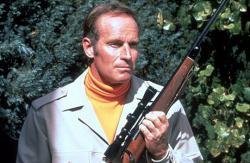 Charlton Heston in The Omega Man.