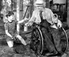 Bobs Watson and Lionel Barrymore as Pud and Gramps.
