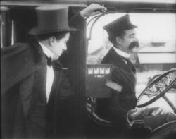 Chaplin arrives home drunk at One A.M.