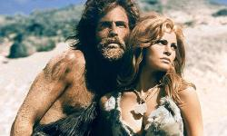 John Richardson and Raquel Welch in One Million Years B.C..