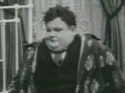 Oliver Hardy in One Too Many.