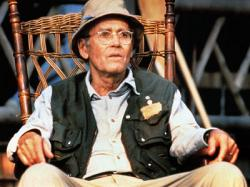 Henry Fonda in On Golden Pond.