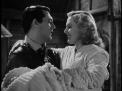 Cary Grant and Jean Arthur in Only Angels Have Wings.