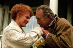 Maureen O'Hara and Anthony Quinn in Only the Lonely