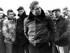Marlon Brando as Terry Malloy in On the Waterfront.