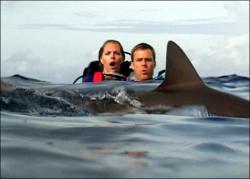 Blanchard Ryan and Daniel Travis in Open Water.
