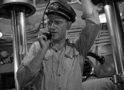 John Wayne in Operation Pacific.
