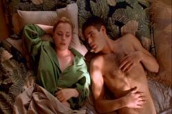 Christina Ricci and Ivan Sergei in The Opposite of Sex.