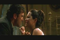 Antonio Banderas and Angelina Jolie in Original Sin.