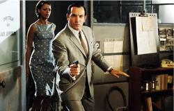 Berenice Bejo and Jean Dujardin are caught in a nest of spies.