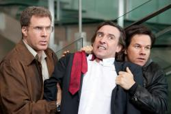 Will Ferrell, Steve Coogan and Mark Wahlberg in The Other Guys.