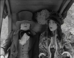 Buster Keaton and Natalie Talmadge in Our Hospitality.