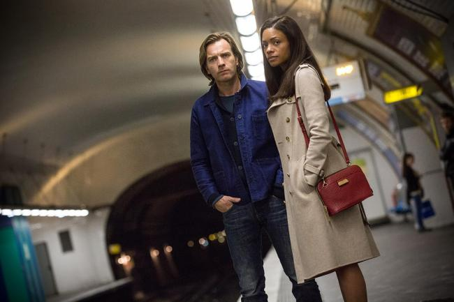 Ewan McGregor and Naomie Harris in Our Kind of Traitor.