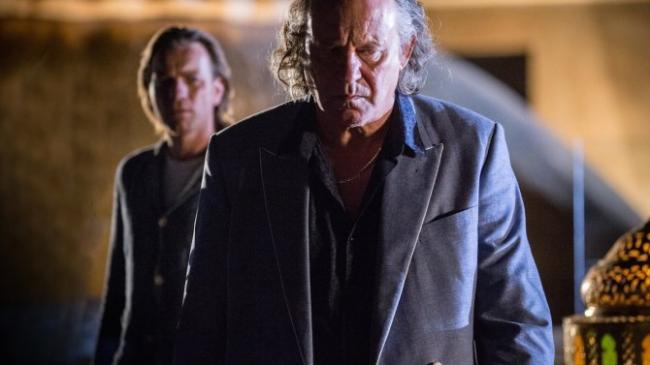 Ewan McGregor and Stellan Skarsgård in Our Kind of Traitor.