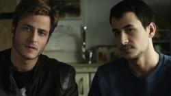 Michael Aloni and Nicholas Jacob in Out in the Dark