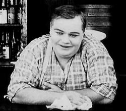 Roscoe 'Fatty' Arbuckle in Out West.