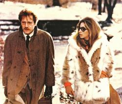 George Segal and Barbra Streisand in The Owl and the Pussycat.