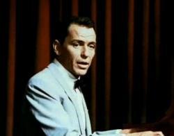 Frank Sinatra in Pal Joey.