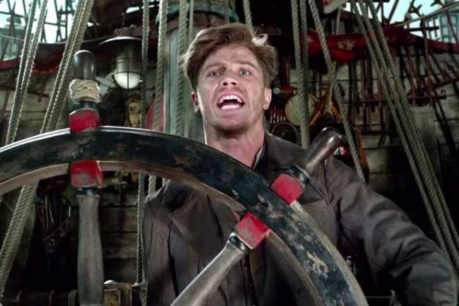 Garrett Hedlund as Hook in Pan