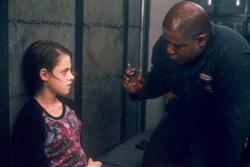 Kristen Stewart and Forest Whitaker in Panic Room.