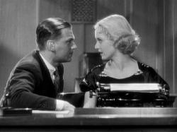 Douglas Fairbanks Jr. and Bette Davis in Parachute Jumper.