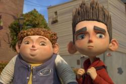 Tucker Albrizzi and Kodi Smit-McPhee provide the voices of Neil and Norman in Paranorman.
