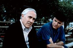 Jason Robards and Steve Martin in Parenthood