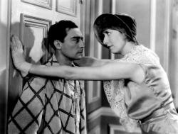 Buster Keaton and Charlotte Greenwood in Parlor, Bedroom and Bath.