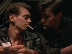 Steve Buscemi and Adam Nathan in Parting Glances