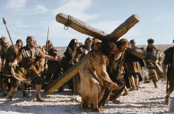 James Caviezel in Passion of the Christ.