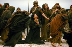 Monica Bellucci in Passion of the Christ.