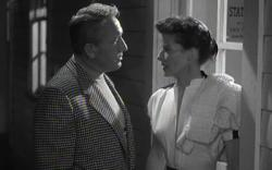 Spencer Tracy and Katharine Hepburn in Pat and Mike.