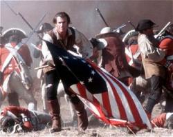 Mel Gibson in The Patriot.