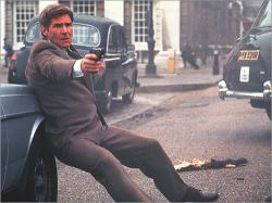 Harrison Ford in Patriot Games.