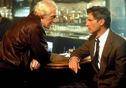 Richard Harris and Harrison Ford in Patriot Games.