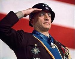 George C. Scott is General George S. Patton in Patton.