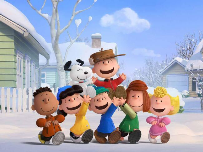 The gang's all here in The Peanuts Movie.