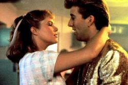 Kathleen Turner and Nicolas Cage in Peggy Sue Got Married