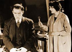 Lon Chaney and Claire Adams in The Penalty.