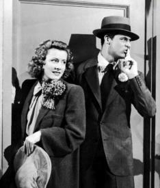 Irene Dunne and Cary Grant in Penny Serenade.