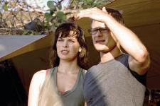 Milla Jovovich and Steve Zahn in A Perfect Getaway.