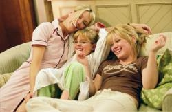 Heather Locklear, Aria Wallace and Hilary Duff in The Perfect Man.