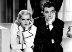 Jean Harlow and Robert Taylor in Personal Property.